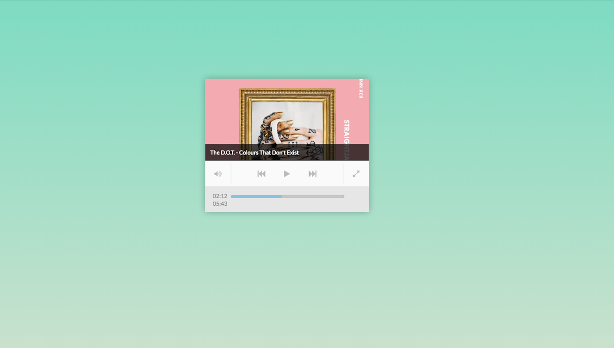 76 Hand Picked CSS Music Players – W3 Tweaks
