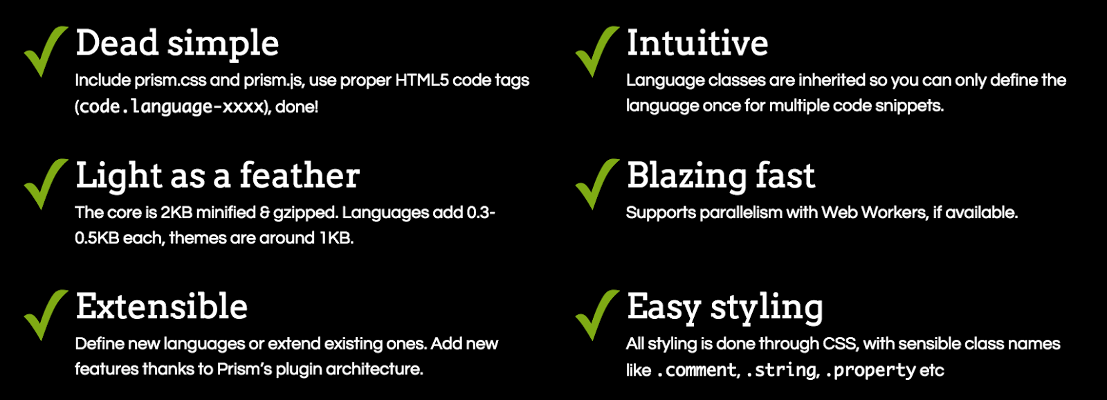 List all top best Javascript Syntax Highlighters framework collections 1