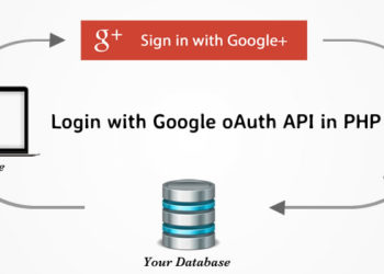 How to integrate the login using Google+ plus API in PHP 4