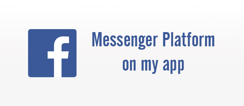 Create Facebook Messenger Chatbot using Node Js 1