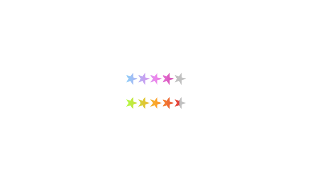 27 CSS Star Ratings 22