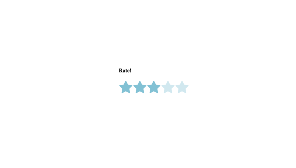 27 CSS Star Ratings 3