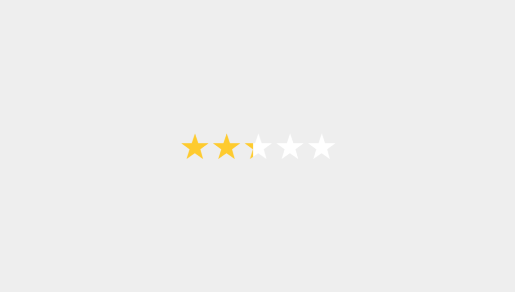 27 CSS Star Ratings 20