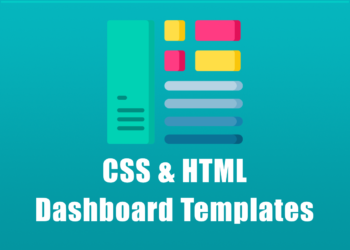 CSS & HTML Dashboard Templates